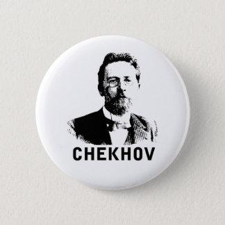 Anton Chekhov 6 Cm Round Badge