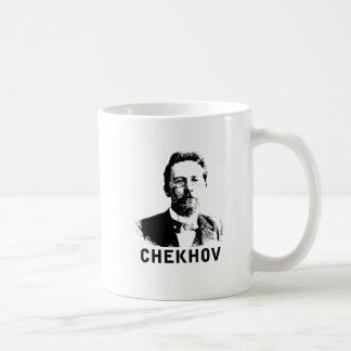 Anton Chekhov Basic White Mug