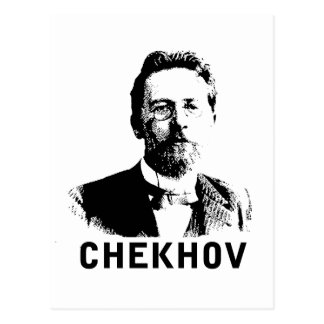 Anton Chekhov Postcard