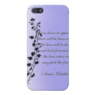 Anton Chekhov Quotes Clinging Vines Iphone Case iPhone 5 Covers