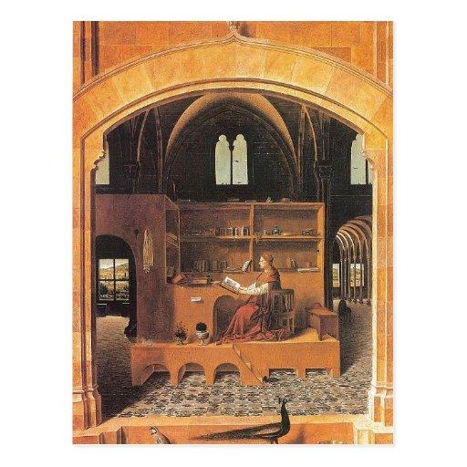 Antonello da Messina - St Jerome in his Study (145 Post Card