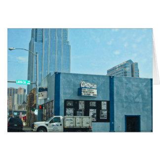Antones Austin Texas Card