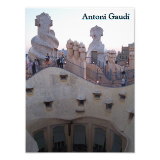 Antoni Gaudí Casa Milà Barcelona Art Photo