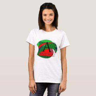 """""""Antonia"""" graphic on Women's T-Shirt"""