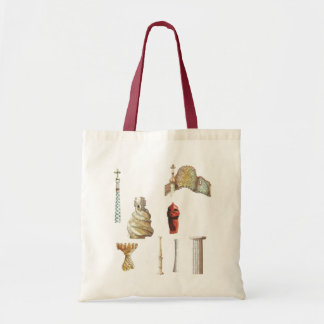 Antonio Gaudi. Barcelona. Spain. Architectural Tote Bag