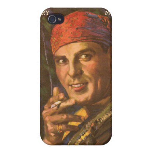 Antonio Moreno, Silent Film Star Case For iPhone 4