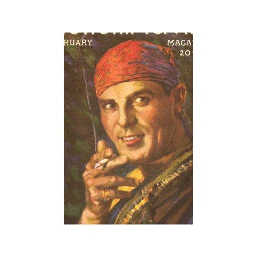 Antonio Moreno silent movie star Canvas Print