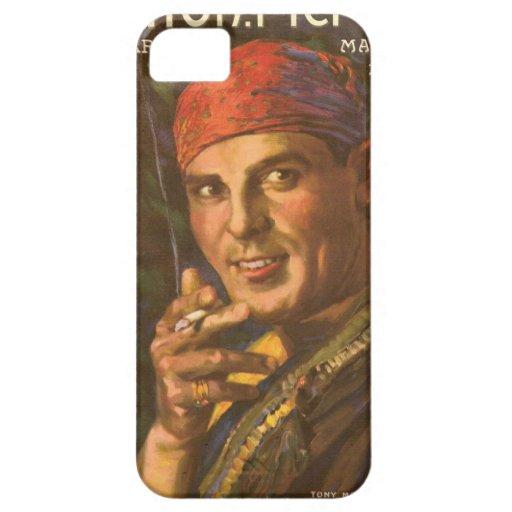 Antonio Moreno vintage magazine cover iPhone 5 Case