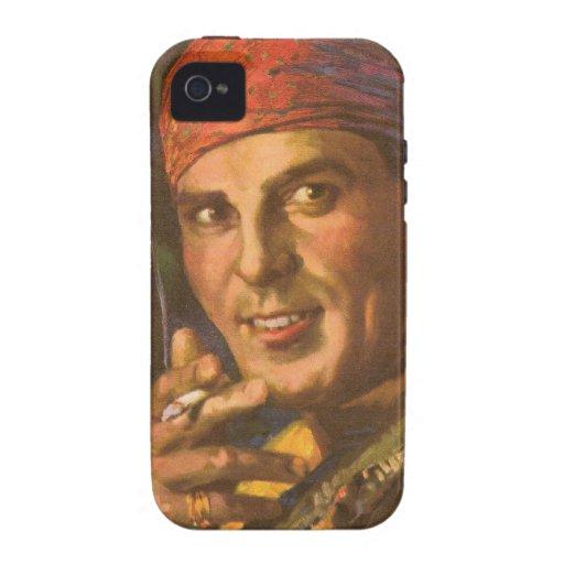 Antonio Moreno vintage magazine cover Case-Mate iPhone 4 Cases