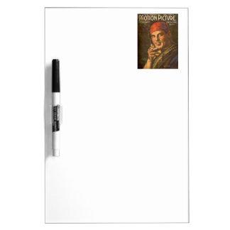Antonio Moreno vintage magazine cover Dry Erase Board