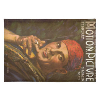 Antonio Moreno vintage magazine cover Placemat