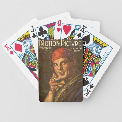 Antonio Moreno vintage magazine cover Deck Of Cards
