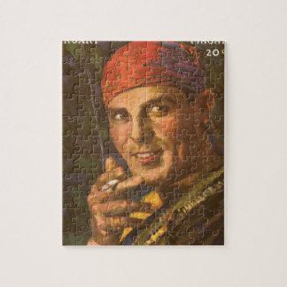 Antonio Moreno vintage magazine cover Jigsaw Puzzle