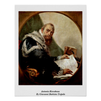 Antonio Riccobono By Giovanni Battista Tiepolo Print