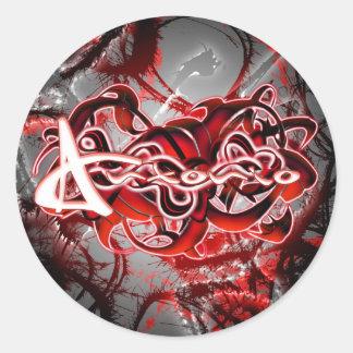 Antonio Round Stickers
