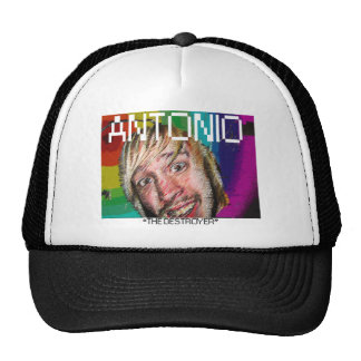 "ANTONIO ""THE DESTROYER"" MESH HAT"
