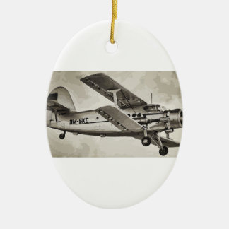 Antonov an-2 christmas ornament