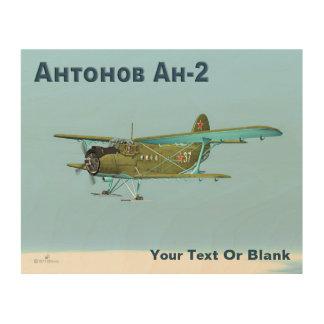Antonov An-2 Wood Wall Decor