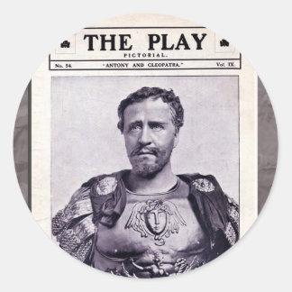 Antony and Cleopatra Sticker