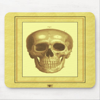 Antque Skull Mouse Pad