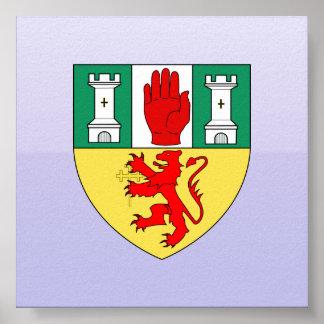 Antrim arms, Ireland Print
