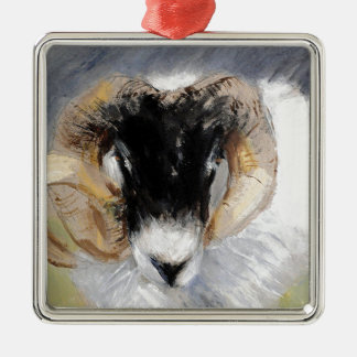 Antrim Coast Road Ram Christmas Ornament
