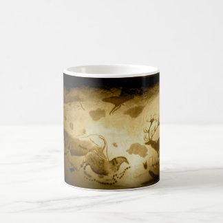Antropology painting basic white mug
