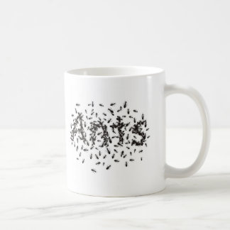 Ants Basic White Mug