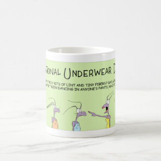Ants celebrate National Underwear Day Coffee Mug