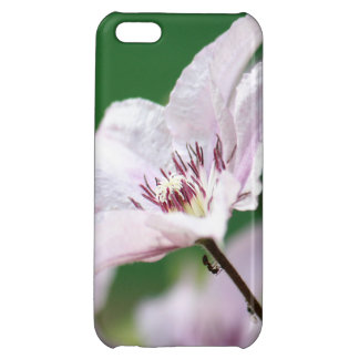 Ants climbing up a pink flower in the garden iPhone 5C cases