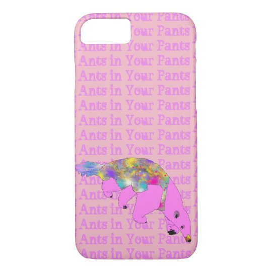 Ants in Your Pants Bright Pink Anteater Animal