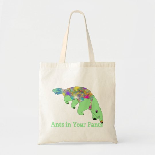 Ants in Your Pants Green Anteater Animal Art