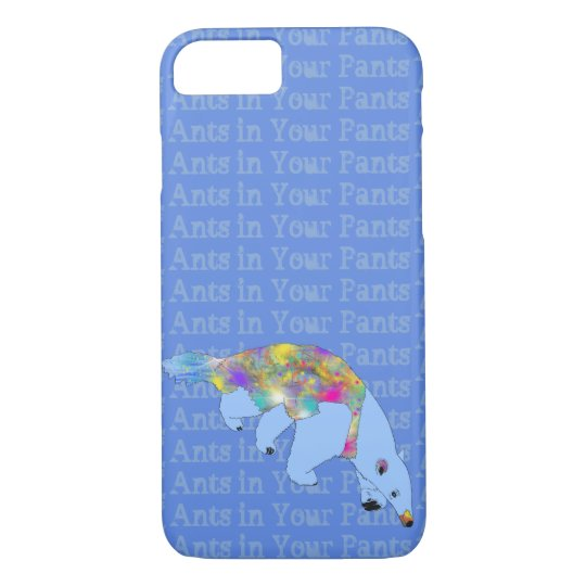Ants in Your Pants Pale Blue Anteater Animal
