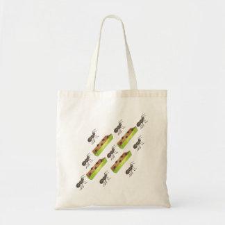 Ants on a Log Tote Bag II