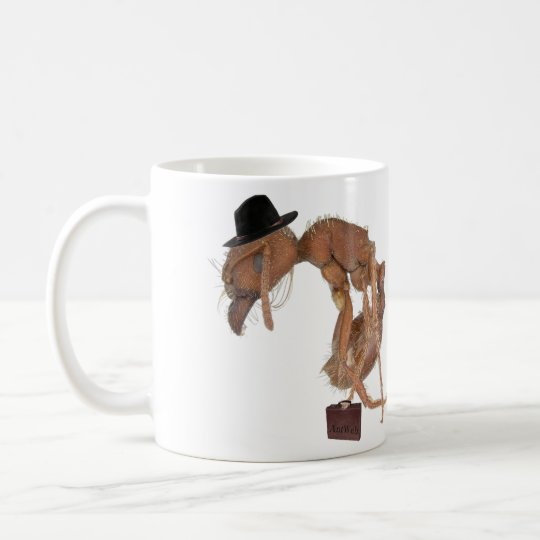 AntWeb Tough day at work mug