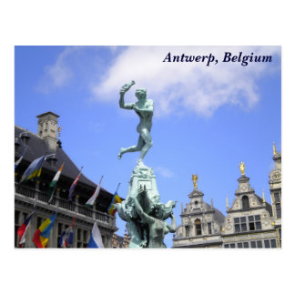 Antwerp City Postcard