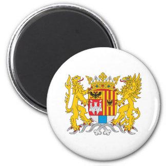 Antwerp Coat Of Arms 6 Cm Round Magnet
