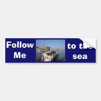 Antwerp, Scheldt support vessel 04 Bumper Sticker