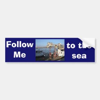 Antwerp, Scheldt support vessel 04a Bumper Sticker