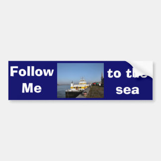 Antwerp, Scheldt support vessel 04e Bumper Sticker