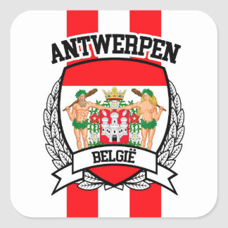 Antwerp Square Sticker