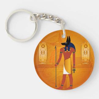 Anubis1 Acrylic Key Chains