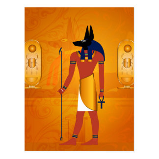 Anubis1 Postcard