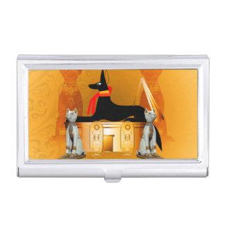 Anubis, ancient Egyptian Business Card Holder