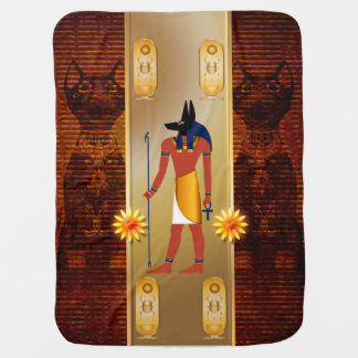Anubis, ancient Egyptian god Baby Blanket