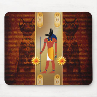 Anubis, ancient Egyptian Mouse Pad