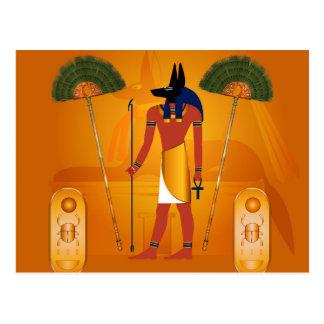 Anubis, ancient Egyptian Postcard