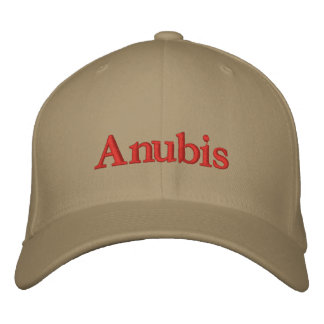Anubis cap embroidered baseball cap