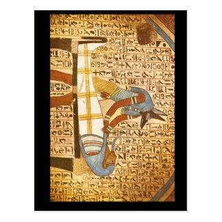 Anubis Concluding Mummification_Art of Antiquity Postcard