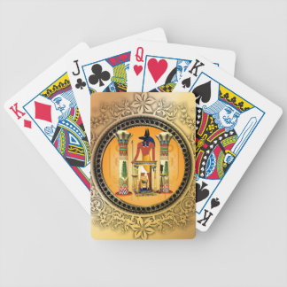 Anubis, egypt bicycle playing cards